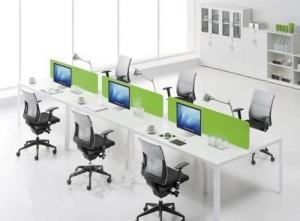 为什么要选择办公家具厂的开放式办公桌